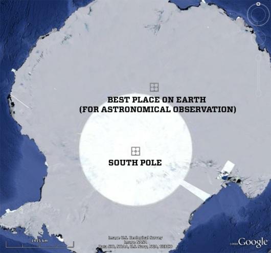 Ridge A - Google Earth
